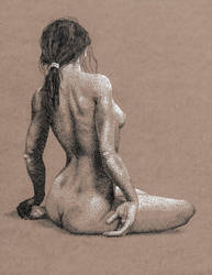 Nude Woman by JeremyMallin