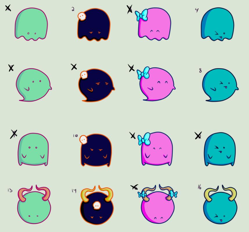 Blob Buddies Adoptables 1 (Open) by MercyAlters