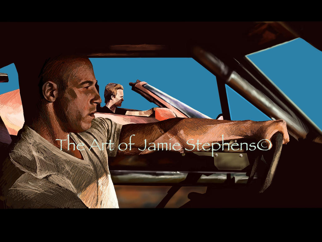 the fast and the furious by Jamos2007