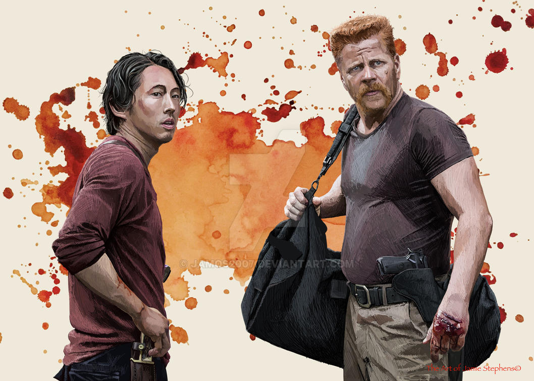 Glenn and Abraham Ford by Jamos2007