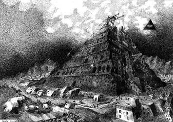 Wieza Babel by damianparlicki
