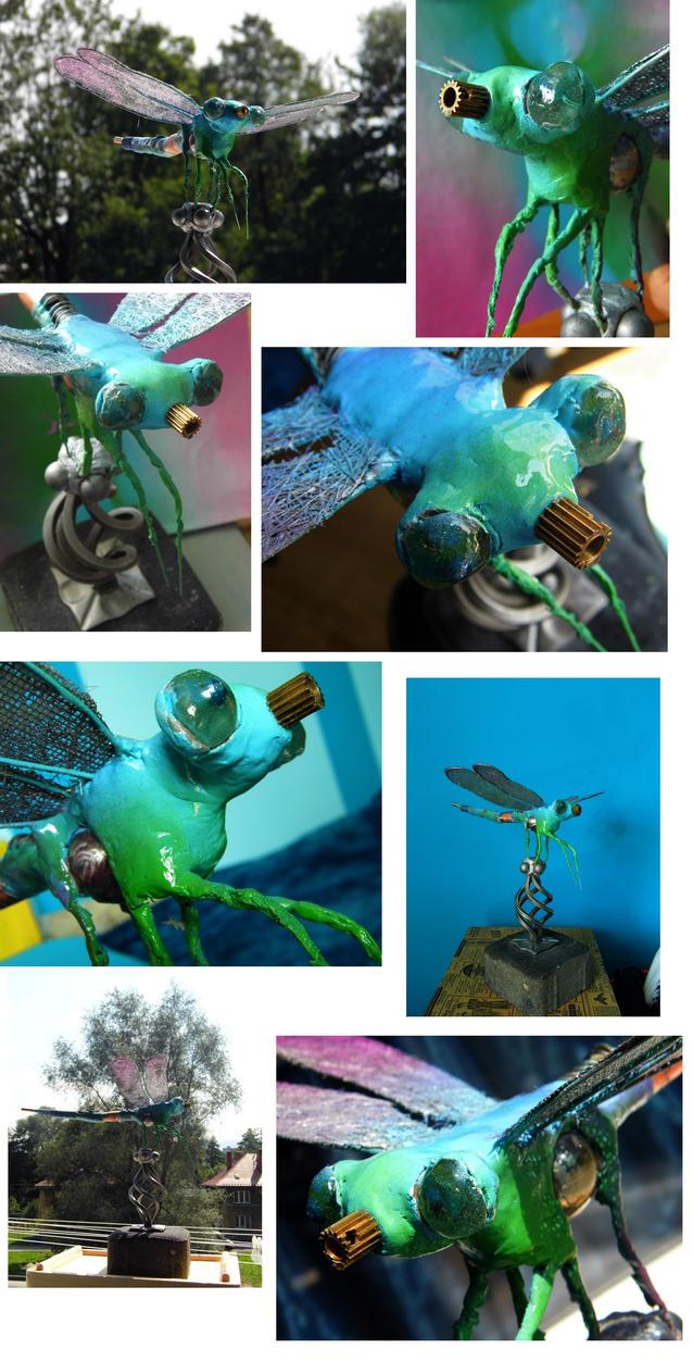 dragonfly by damianparlicki