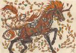 Autumn Kirin in Color by jollyroger11
