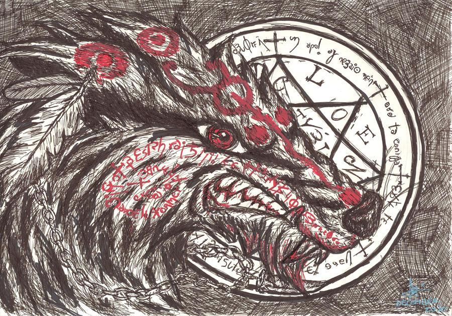 hell wolf by vampireassassin1444 - photo #11