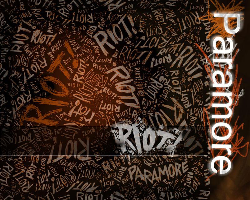 Riot paramore font free download