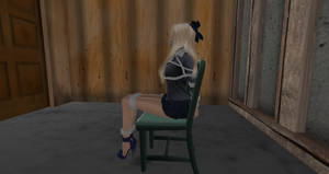 School girl in troubles 7