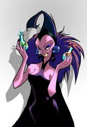 IllustriousBits Week 34: Disney Villains - Yzma by bernce