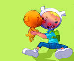 Adventure time: Finn and Jake by bernce