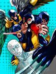 Battle Artist: All New X-Men (Colored)