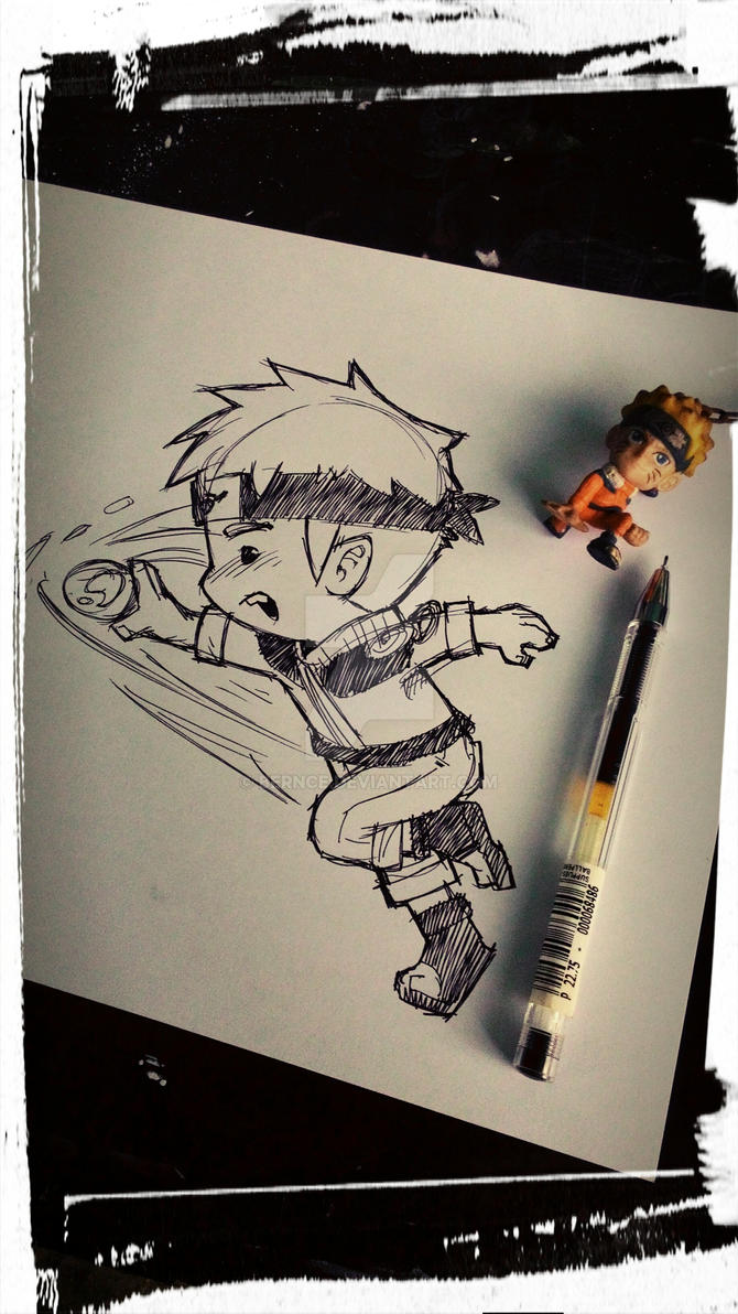 Quick Sketch: Naruto by bernce