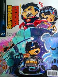 Blank Cover Sketch: Batman Vs Superman by bernce