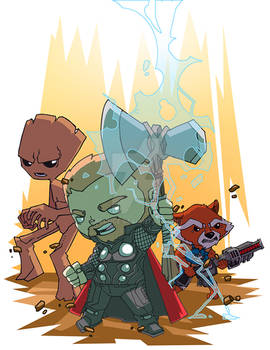 Thor and his Lackeys!