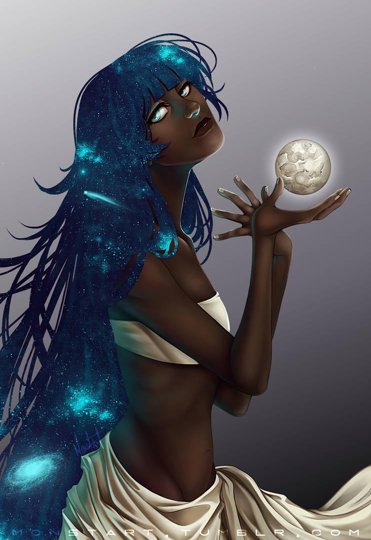 The Night by Vixii