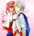 Fire Emblem: Fates - Corrin and Sakura