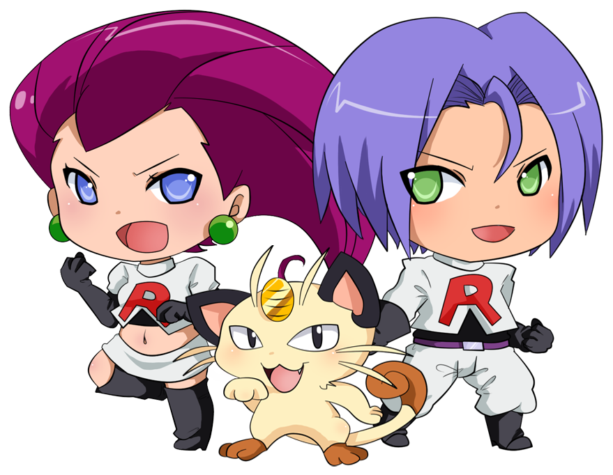 Team Rocket by pixelpoe