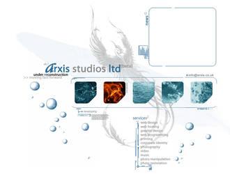 Arxis Studios Website by blackboxstudios