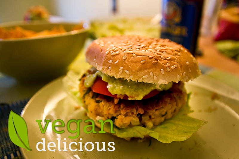Vegan Burger by osrek