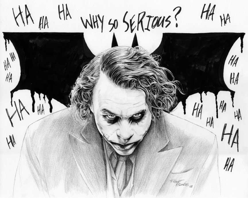 Joker by Robert-Blancas