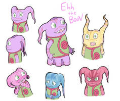 Ehh the Boov by FeralSonic