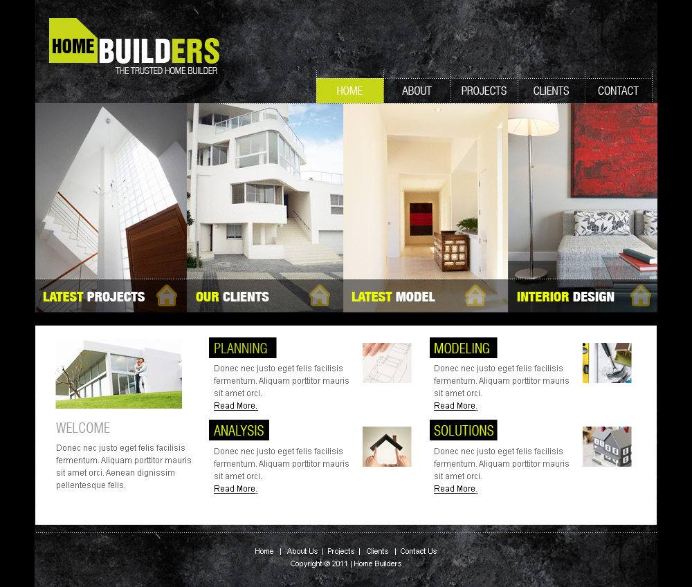 Web templates architecture by netspy9286 on deviantart for Architectural websites