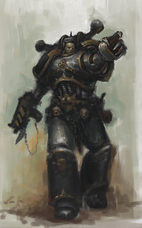 Iron Warrior by MasterAlighieri