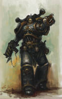 Iron Warrior detailed by MasterAlighieri