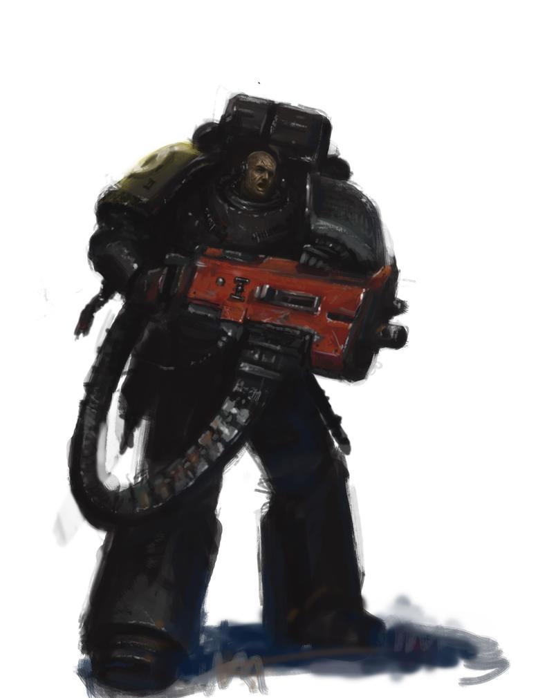 Deathwatch Devastator by MasterAlighieri