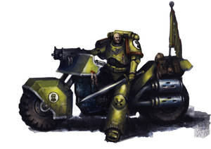 Imperial Fists Bike