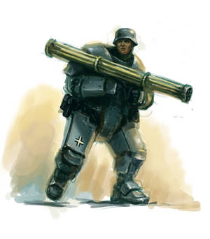 Heavy Flak Grenadier