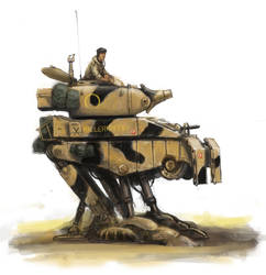 British M2 walker, Operation Babylon Camo