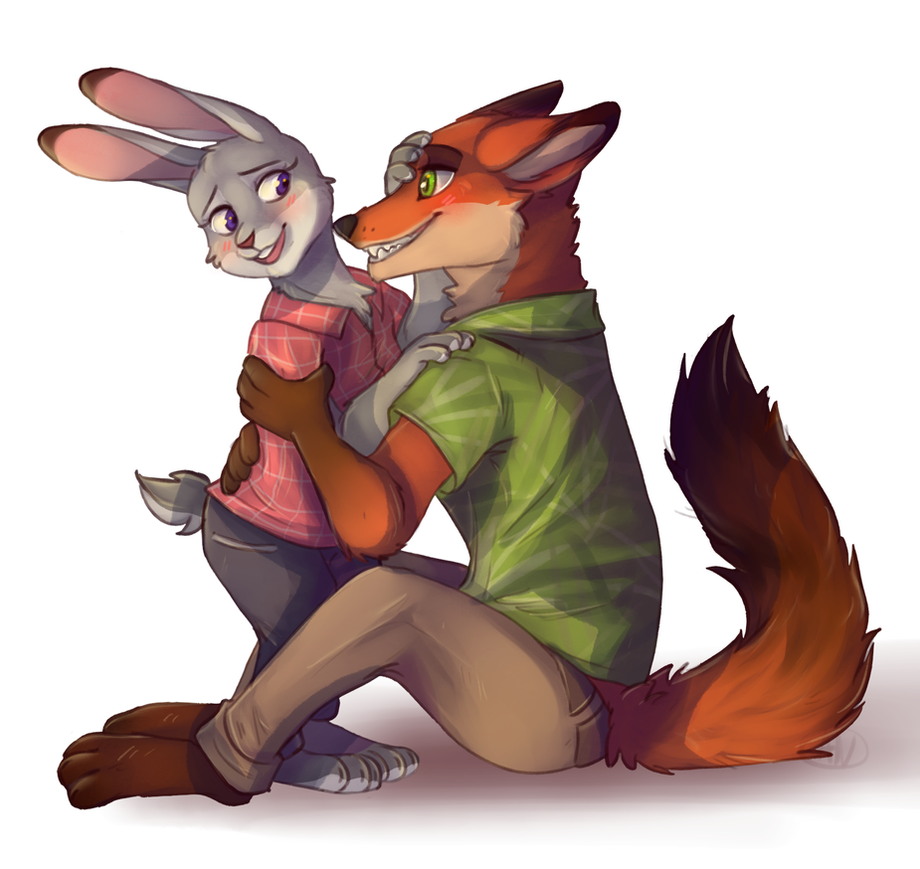 Zootopia ( Judy and Nikc) by 1AN1 on DeviantArt