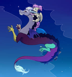 Cord and Shy (Discord and Fluttershy)