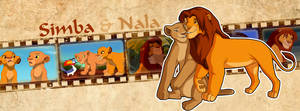 Simba and Nala (Timeline Facebook)