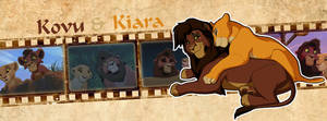 Kovu and Kiara  (Timeline Facebook)