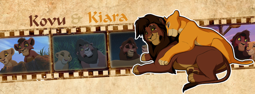 Kovu and Kiara  (Timeline Facebook) by Howie62