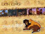 Kovu and Kiara | TLK - Wallpaper