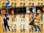 Puss in Boots - Wallpaper