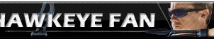 Hawkeye Fan   Button by Howie62