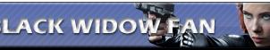 Black Widow Fan   Button by Howie62