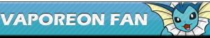 Vaporeon Fan | Button by Howie62
