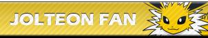 Jolteon Fan | Button by Howie62