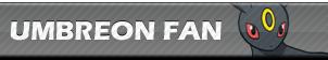 Umbreon Fan | Button by Howie62