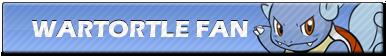 Wartortle Fan | Button