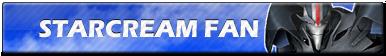 Starscream Fan   Button by Howie62