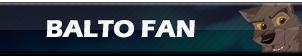 Balto Fan | Button by Howie62