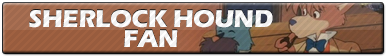 Sherlock Hound Fan | Button