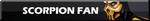 Scorpion Fan | Button by Howie62