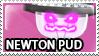Newton Pud Stamp
