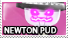 Newton Pud Stamp by Howie62