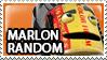 Marlon Random Stamp by Howie62